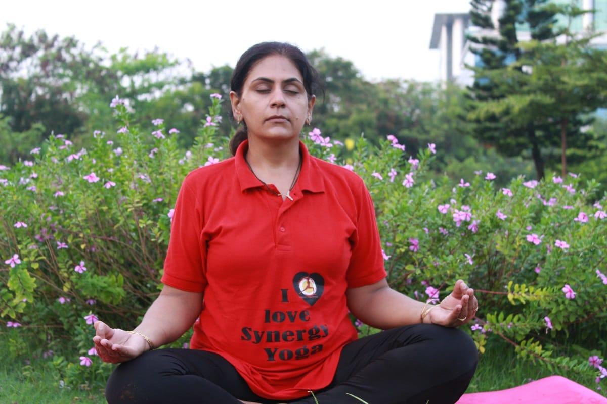 Mrs. Chetna Gandecha, Yoga Practiser