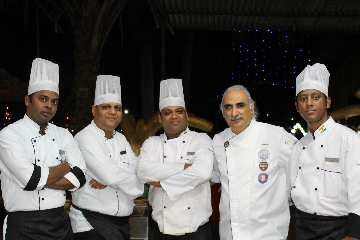 Chef Team at Mirasol Resort