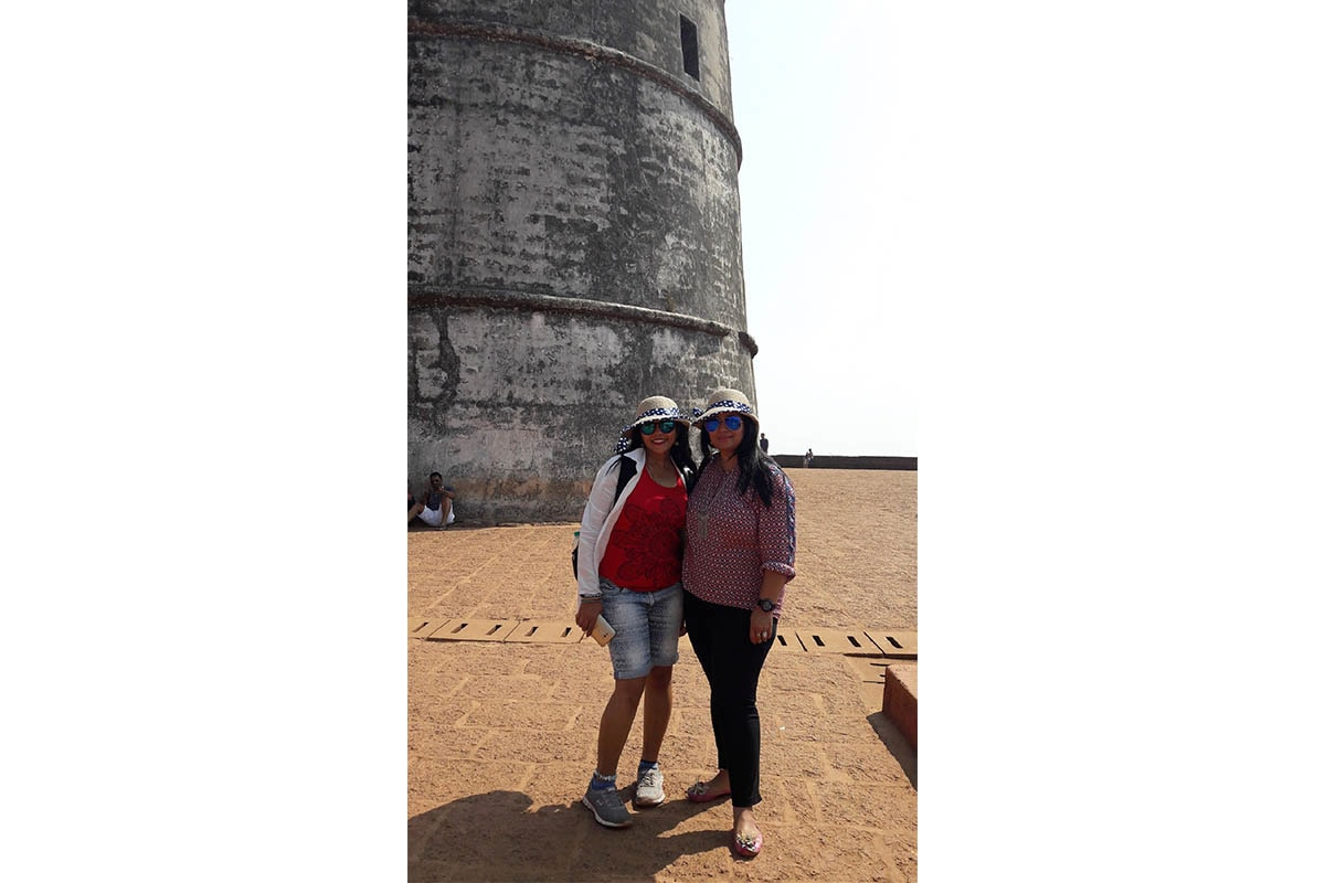 Saloni Rampal at Fort Aguada