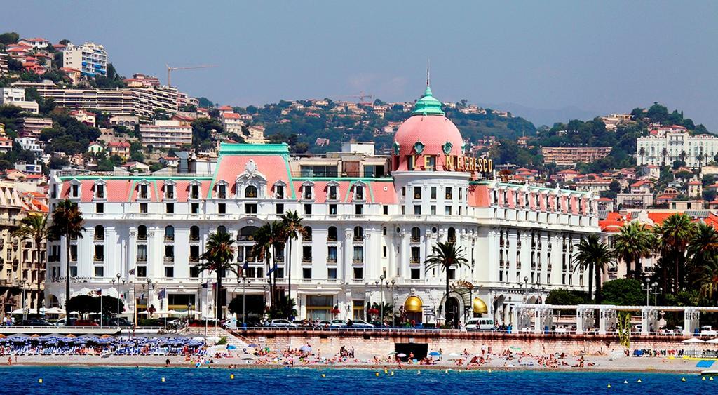 Pink & White Domes Negresco Hotel