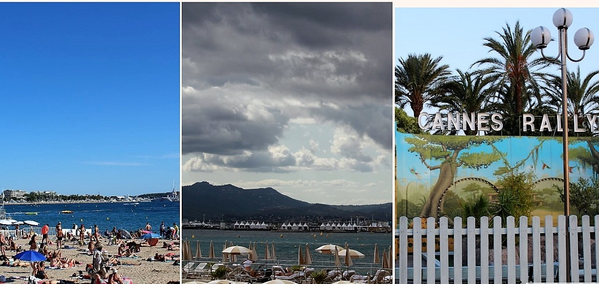 Beaches in Cannes