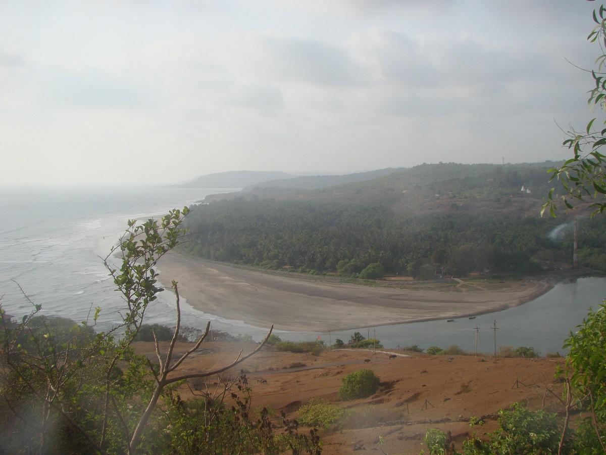 Picturesque view of Kadyavarcha Ganpati Temple