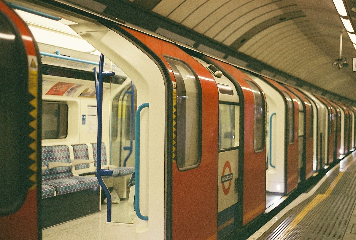 The Underground Tube service in London