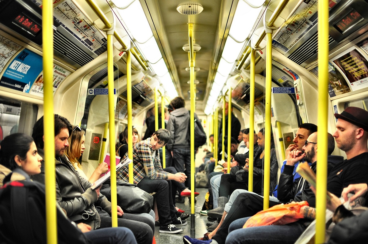 Travelling by Underground Tube Service