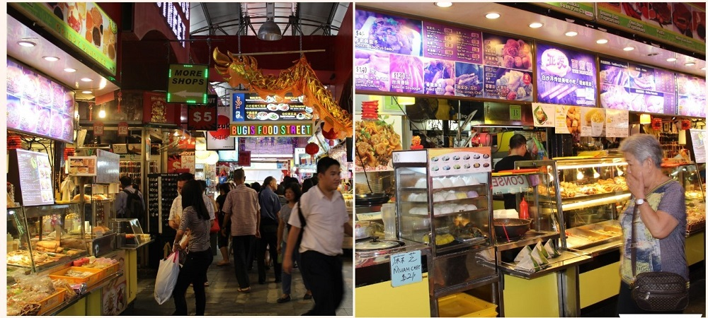 Food Street & Restraurant in Singapore