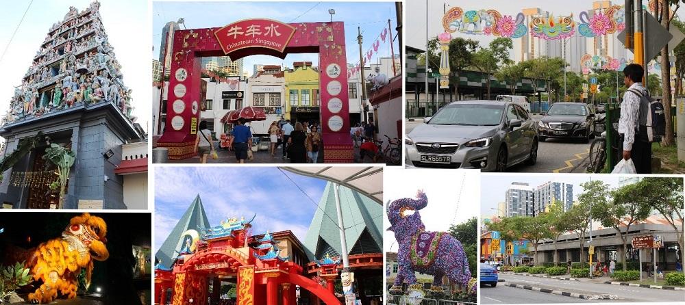 Cultural Arabesque of Singapore