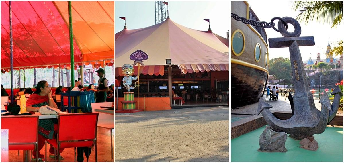 Roberto food Court and Armada at Imagica