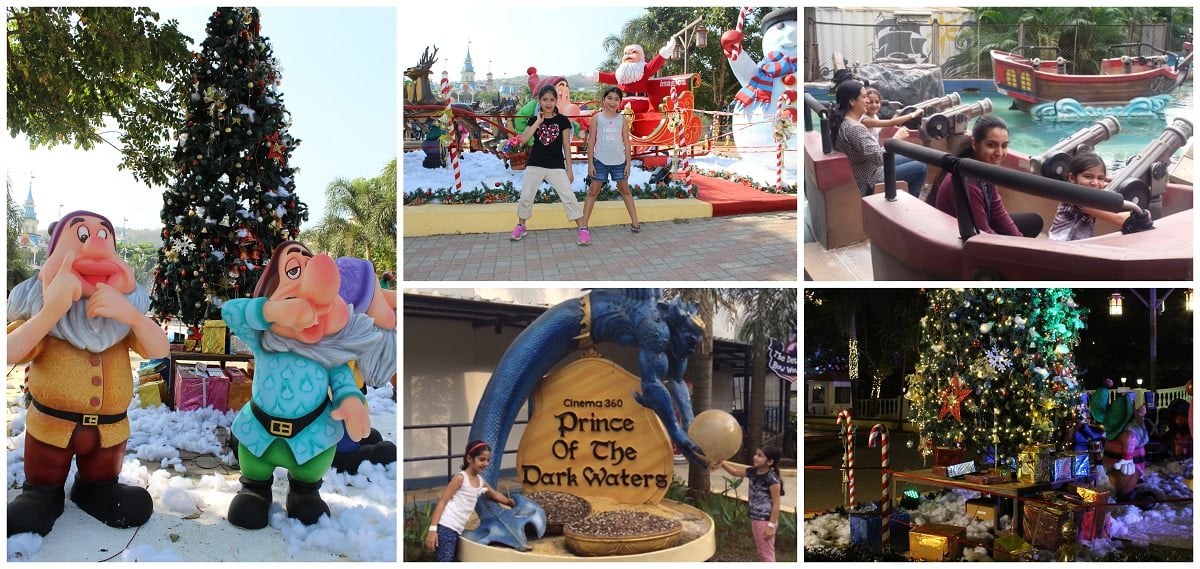 Prince of the Dark Water and Christmas at Imagica