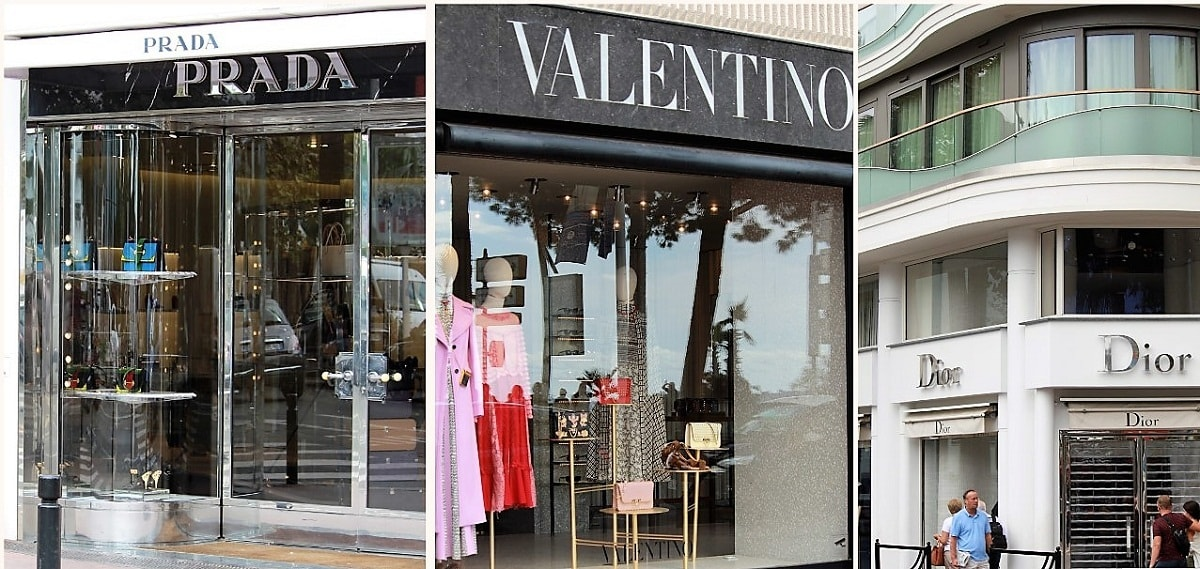 Designer Boutiques in Cannes