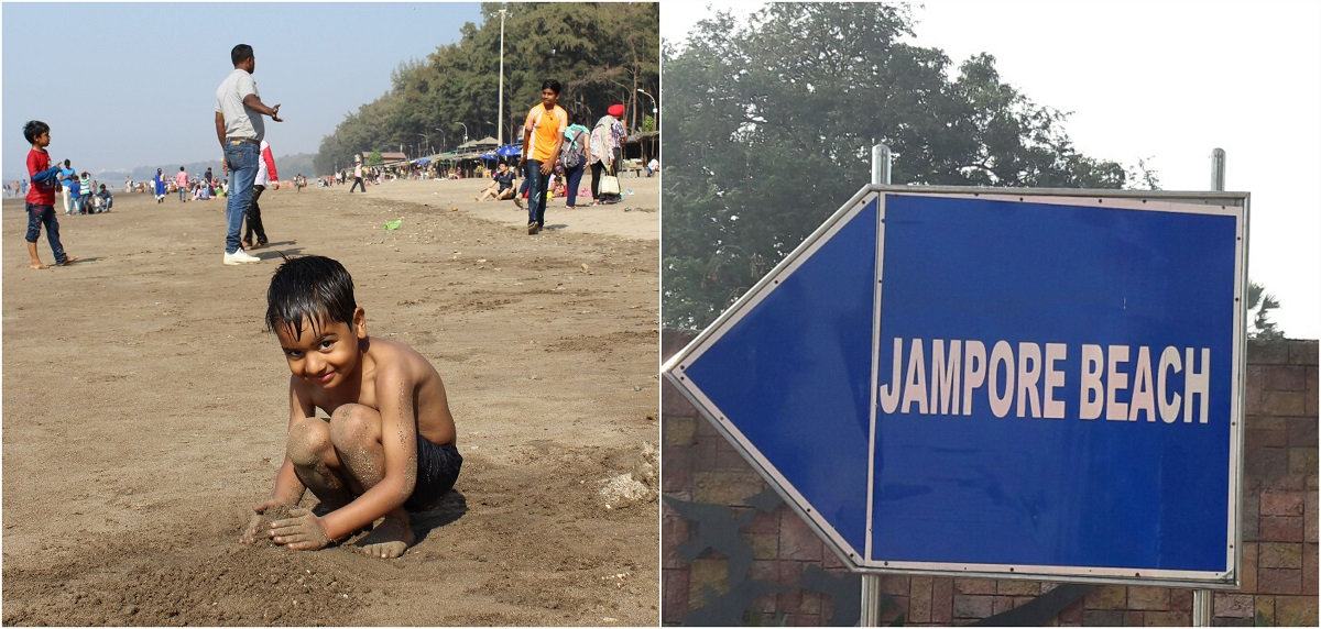 Jampore Beach in Daman