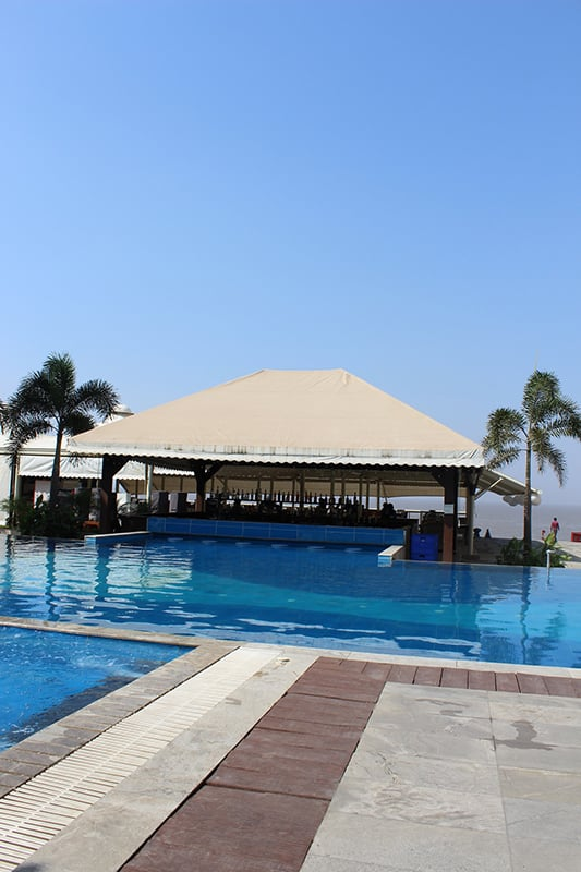 Swimming Pool and Spa Facility at Resort in Daman