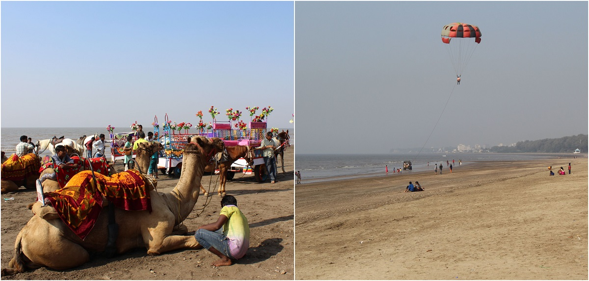 Adventure Activities on Beach in Daman