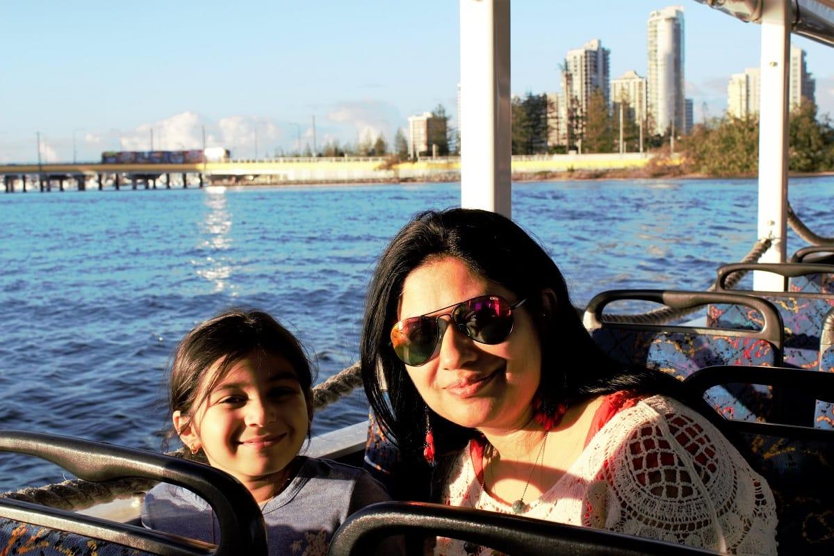 Aquaduck ride of Gold Coasts