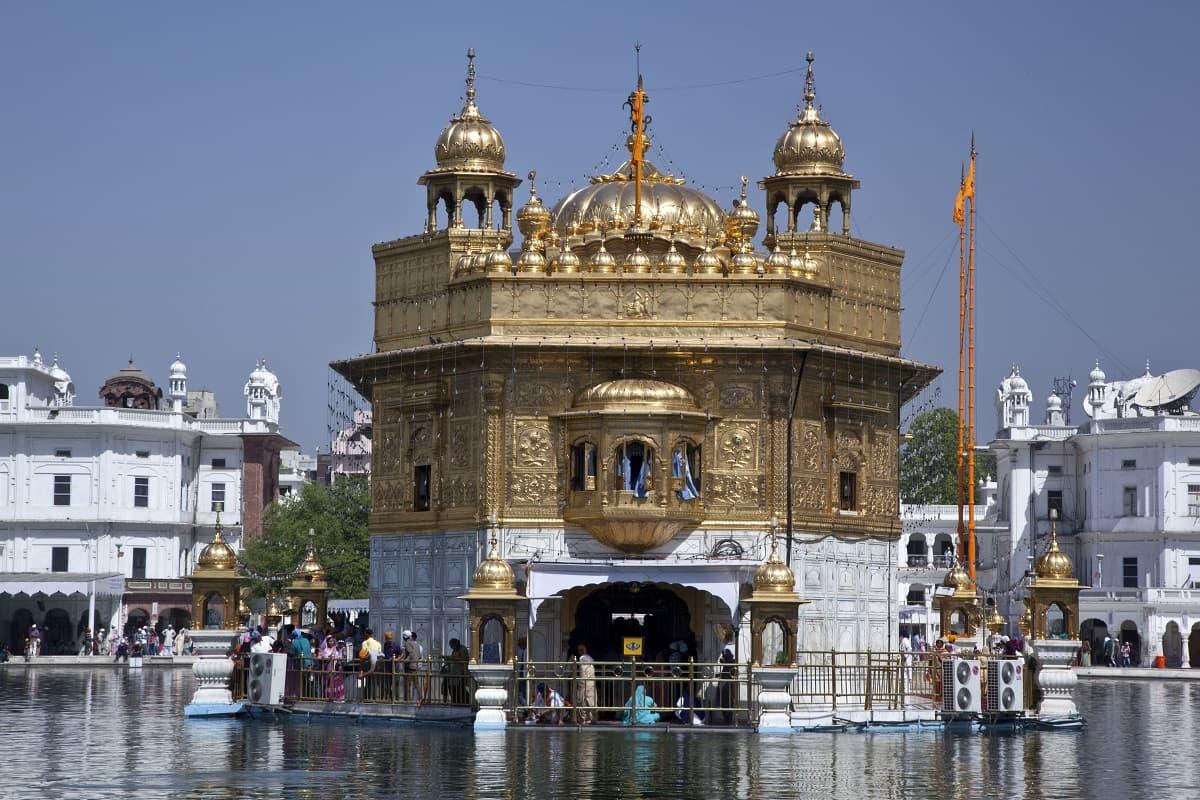 Amrit Sarovar or Pool of Nectar at Golden Temple, Punjab