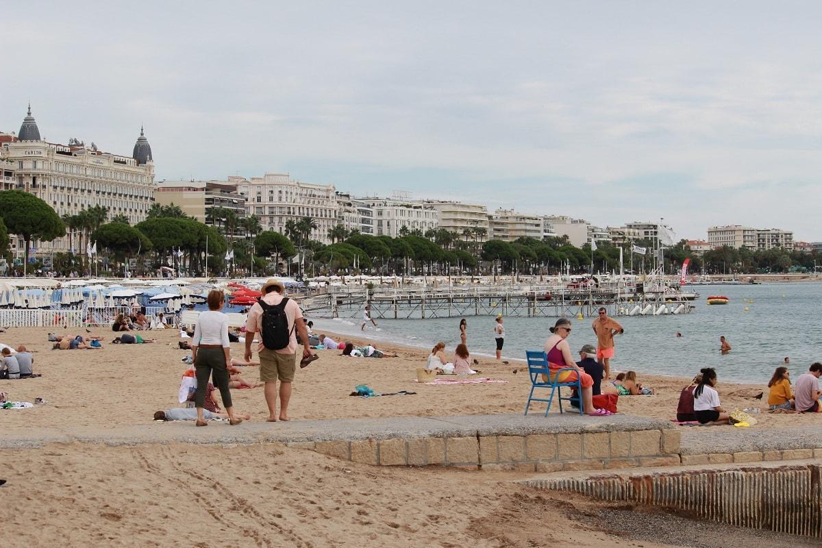 Cannes Public Beach