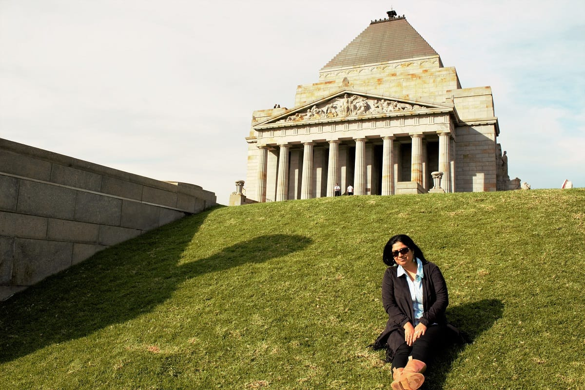 Saloni Rampal at Melbourne Museum
