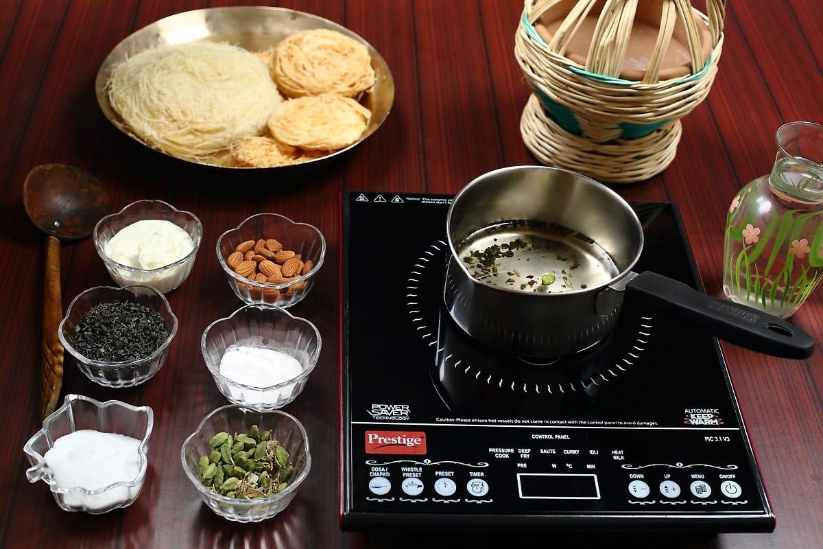 Ingredients for Kashmir Pink Tea