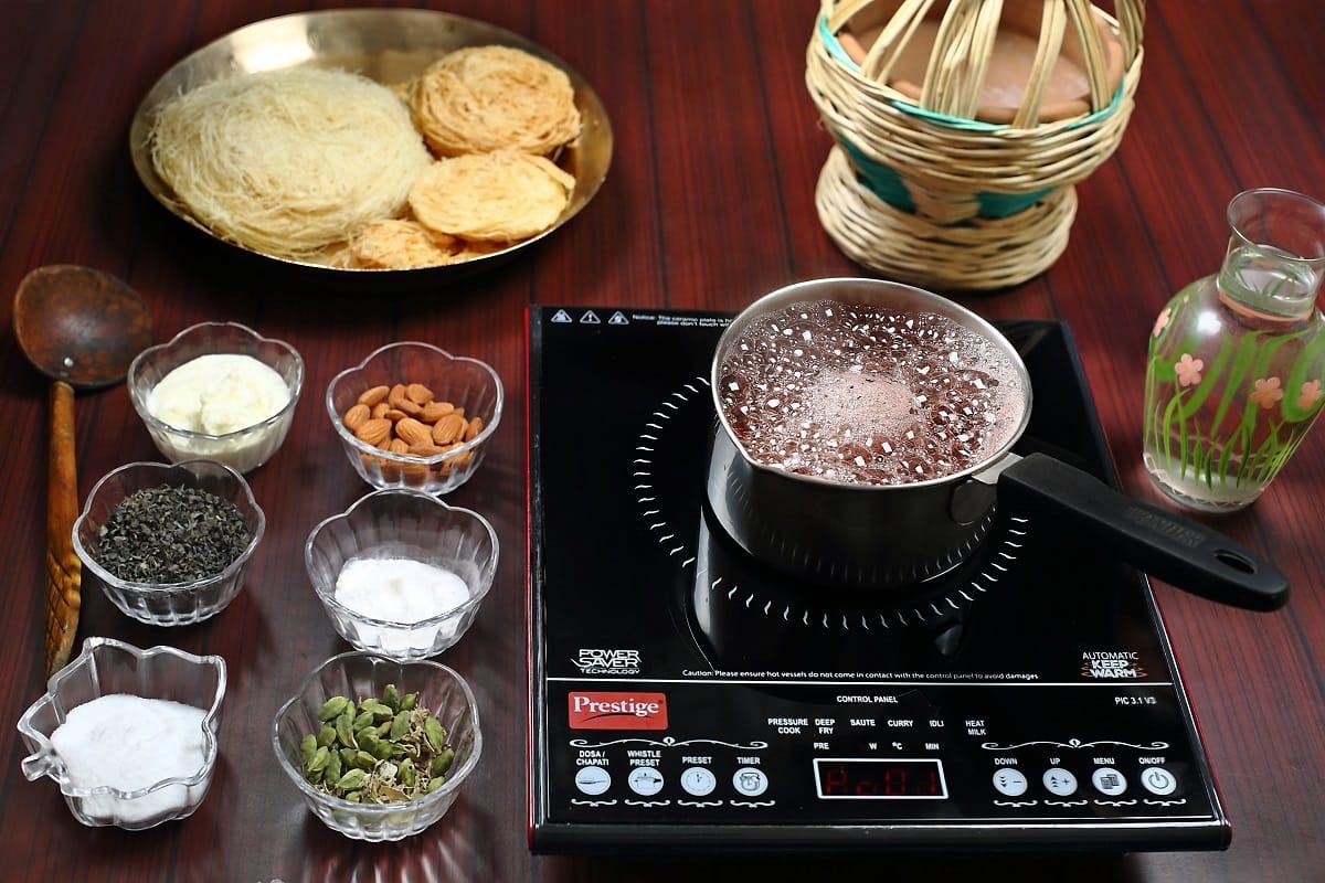 Process for Kashmir Pink Tea