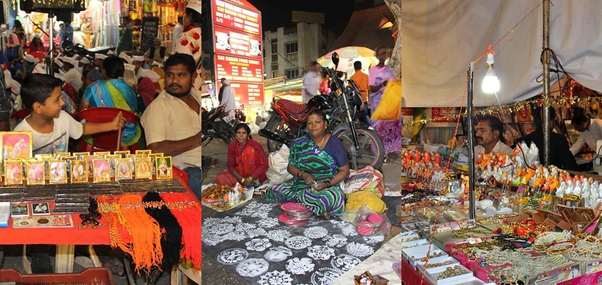Vendors at Sai Baba Temple in Shirdi